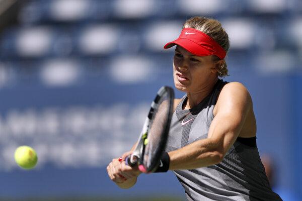 Dvadsaťtriročná Kanaďanka figuruje na 82. mieste v singlovom renkingu WTA.