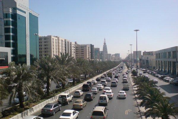 Hlavné mesto Saudskej Arábie Rijád.