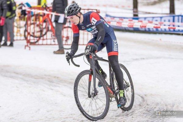 Matej Ulík počas slovenského šampionátu. FOTO: ARCHÍV (MU)