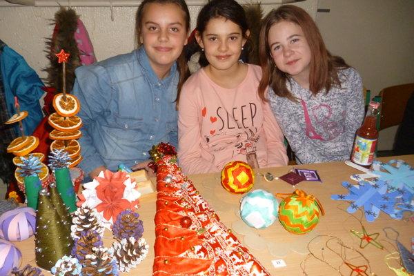 Vianočné trhy v ZŠ Hany Zelinovej.