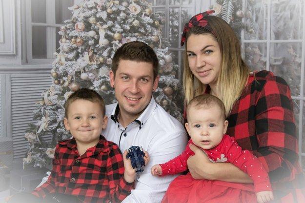 S rodinou.