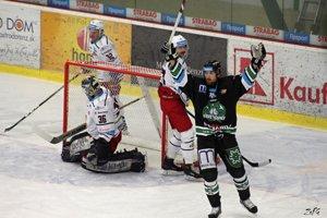 Prvý gól Novozámčanov vo Zvolene strelil Jiří Cetkovský, bodovo však jeho tím vyšiel naprázdno.