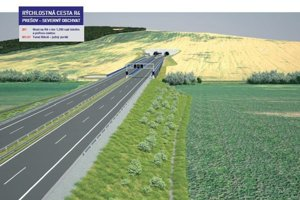 Súčasťou stavby prvej etapy obchvatu bude aj tunel Bikoš.