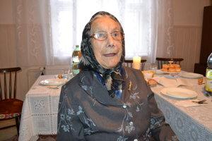 Anna Jurová  oslávila storočnicu.