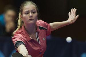 Eva Jurková. Reprezentantka Slovenska vstolnom tenise. Medzi nepočujúcimi patrí medzi najlepšie hráčky na svete.