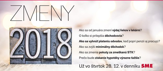 avízo zmeny 2018