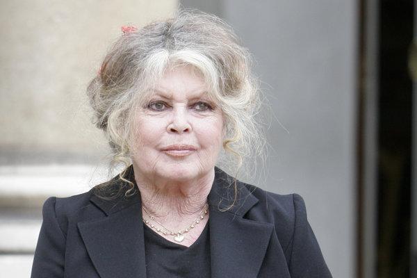 Brigitte Bardotová v roku 2007.