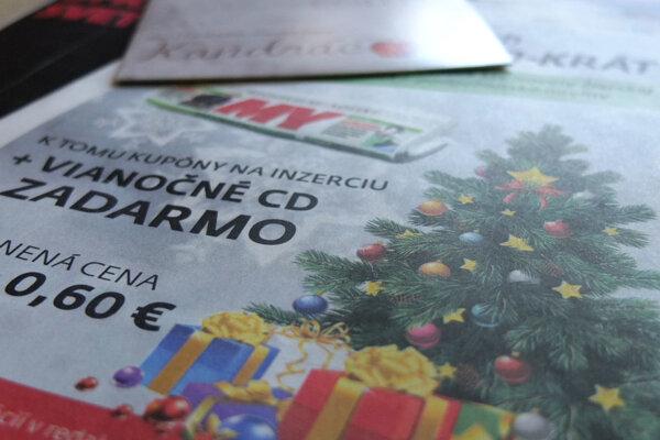 Predplaťte blízkym týždenník MY Noviny Žiarskej kotliny a ako darček dostanete CD Kandráčovcov!