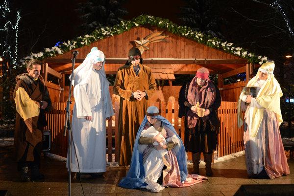 Tradičný vianočný výjav je plný stereotypov.
