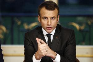 Prezident Emmanuel Macron.