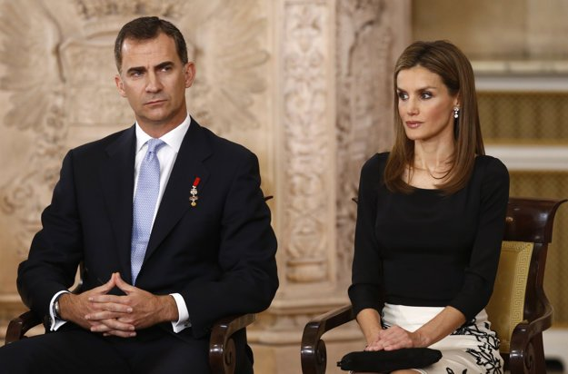Španielsky kráľ Felipe s kráľovnou Letiziou.
