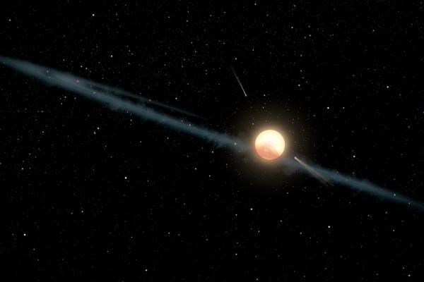 Astronómovia sú si takmer celkom istí, že Tabbyinu hviezdu obieha veľké mračno prachu a nie obrovská mimozemská stavba.