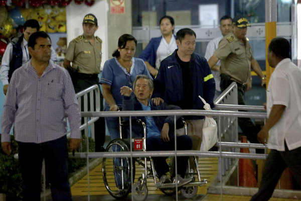 Omilostený bývalý diktátor Alberto Fujimori.
