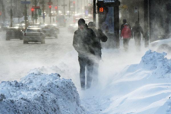 Kanadu zasiahlo mrazivé počasie.