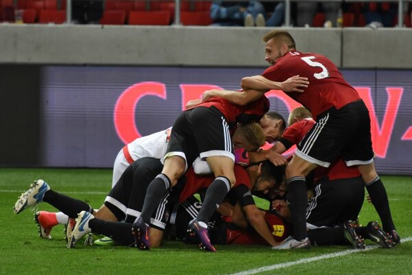 Spartak Trnava vedie po jeseni Fortuna ligu.
