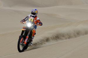 Austrálčan Toby Price z KTM.