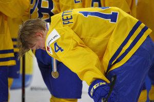 Švédi zvládali prehru vo finále iba ťažko.