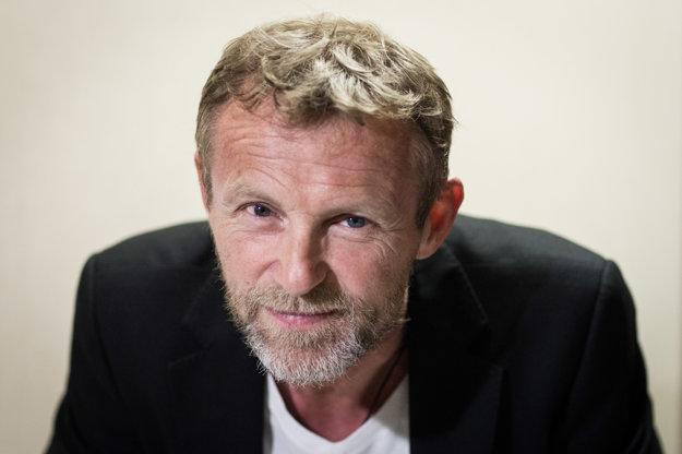 Jo Nesbø, nórska literárna hviezda bol nedávno v Bratislave.