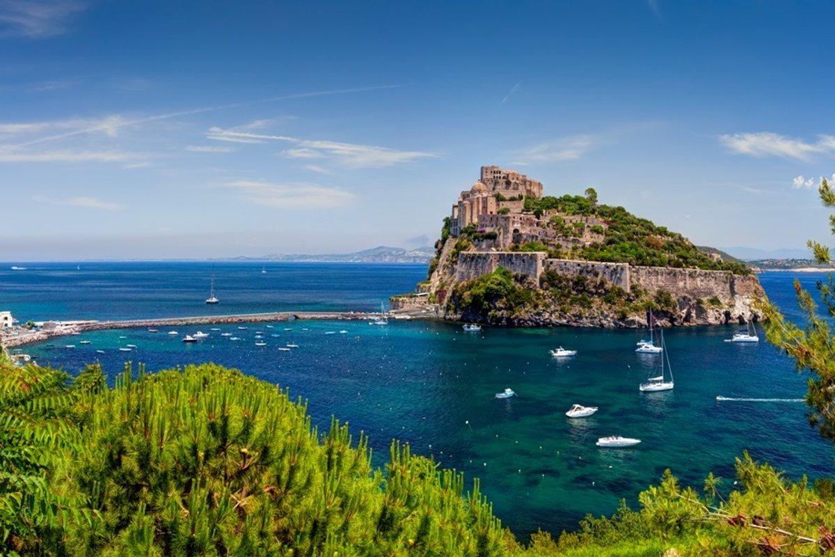 Poznate Taliansky Ostrov Ischia Cestovanie Sme