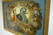 Štefan Kocka sa venuje reštaurovaniu starých obrazov aj so sakrálnymi motívmi.