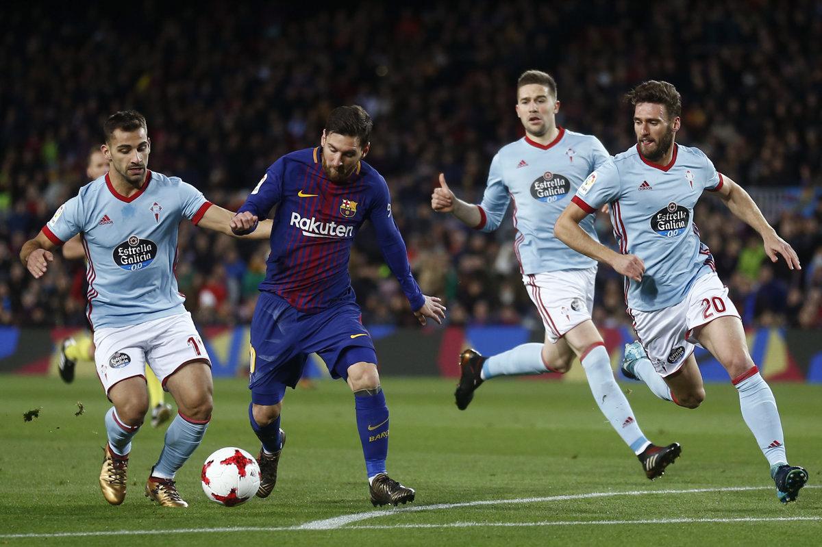 520cea054 Barcelona - Celta Vigo 5:0 (Copa del Rey 2017/2018) - Šport SME