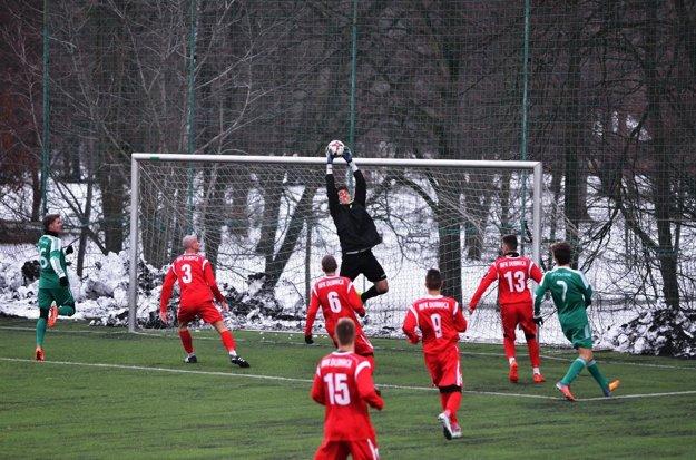Pohronie ešte na sklonku minulého roka prehralo v prípravnom zápase proti Dubnici.