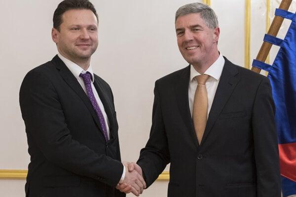 Radek Vondráček a Belá Bugár.