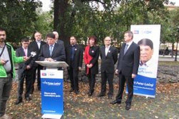 Predstavitelia KDH a NOVA dnes predstavili svoj koaličný program.
