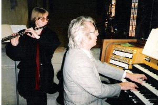 K životu profesora Riečana patrí neodmysliteľne nielen matematika, ale aj hra na organe.