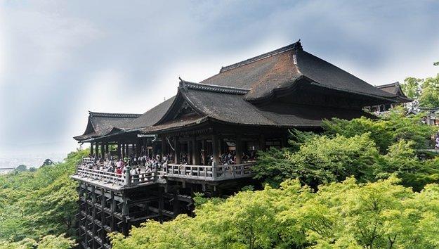 Kiyomizu-dera, Kjóto, Japonsko