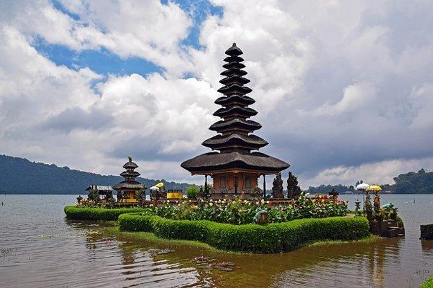Vodný chrám Pura Ulun Danau Beratan