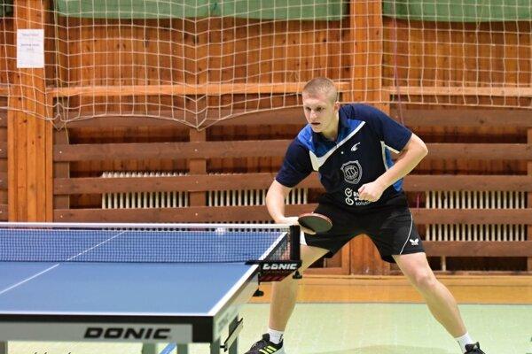 Patrik Páleník získal vzápase proti Rožňave tri body.