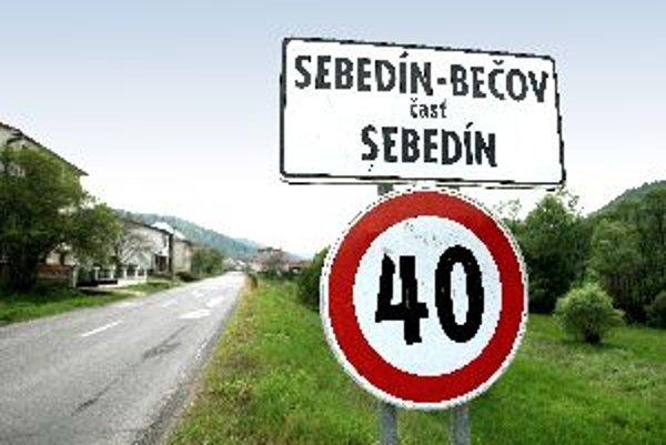 Sebedín- Bečov je jedna obec s dvoma životmi.