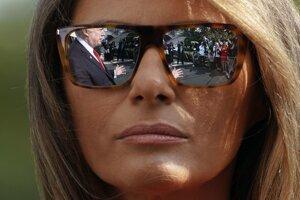 Prvá dáma Melania Trump.