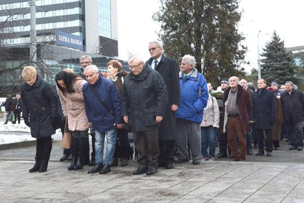 Oslobodenie Košíc. Pripomenuli si ho aj členovia Slovenského zväzu protifašistických bojovníkov.