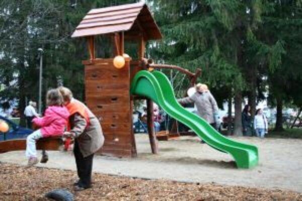 Pink Park v Sásovej ja atraktívnym priestorom pre deti aj dospelých.