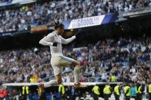 Gólová radsoť Garetha Balea.