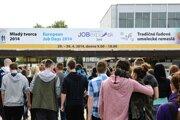 Mnoho mladých ľudí navštívilo Veľtrh práce Job Expo 2014, ktorý sa konal pred dvoma týždňami.