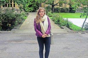Dominika Ďurovčíková študuje v Oxforde.