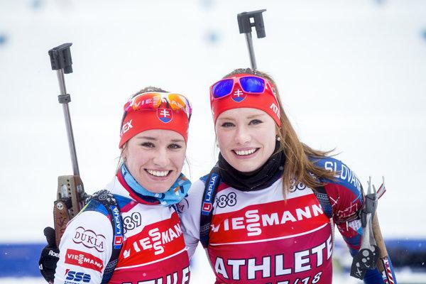 Paulína (vľavo) a Ivona Fialkové.