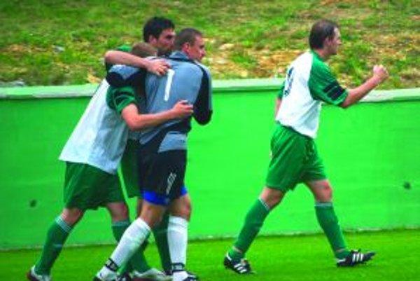 Radosť rakytovskýh futbalistov