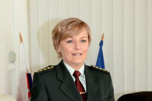 Jana Mésarová. Košická krajská policajná hovorkyňa.