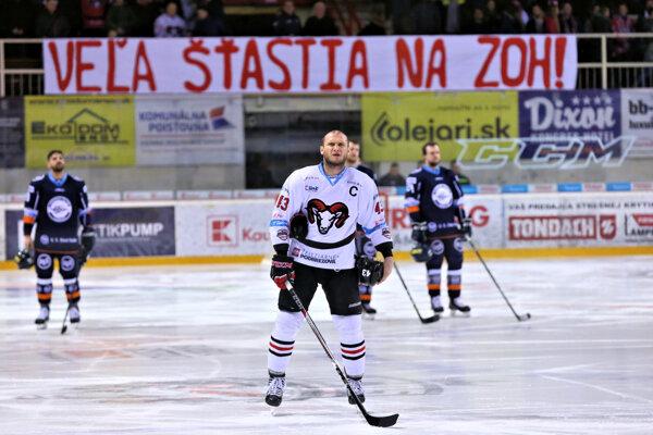 Momentka zo zápasu Banská Bystrica - Košice.