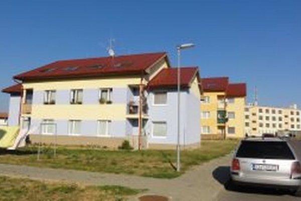 Komplex nájomných bytových domov na Špitzerovej ulici.
