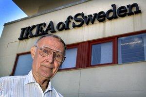 Zakladateľ nábytkárskeho reťazca IKEA Ingvar Kamprad zomrel vo veku 91 rokov.