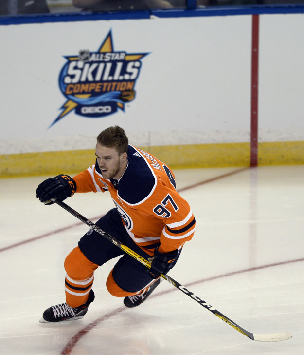 Connor McDavid sa stal najrýchlejším korčuliarom.