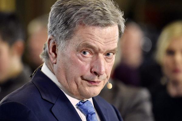 Fínsky prezident Sauli Niinistö.