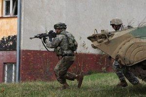 Vojaci nacvičovali akcie proti vojenským aj polovojenským silám.