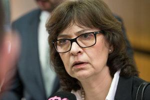 Podpredsedníčka vlády a ministerka spravodlivosti SR Lucia Žitňanská nechcela vstupovať do rozhodovania parlamentu.