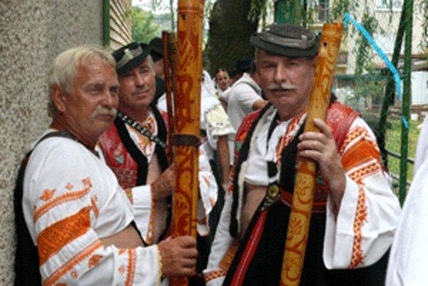 Do Korytárok prišli v sobotu fujaristi z celého Slovenska.